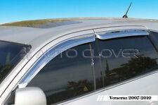 Chrome Window Visor 4p For 07 08 09 10 Hyundai Veracruz ix55