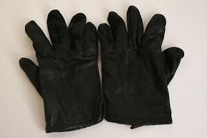 Fownes Men's Black Genuine Leather Driving Gloves W/100% Acrylic Lining Size XL