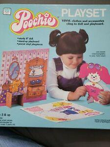 1983 Whitman Poochie Playset By Mattel New unused