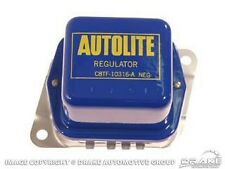 Mustang Voltage Regulator Blue Cover Yellow C8TF-10316-A w A/C 1968 1969 1970