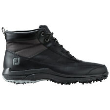 FootJoy Mens Winter Waterproof Golf Boots - New FJ Spiked Leather Thermal Shoes