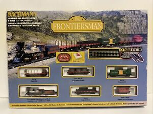 "Bachmann Train Set N Scale ""The Frontiersman"" #24006 For Parts or Repair As Is"