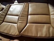 Mercedes Benz W124 E class 89-92 Front leather factory seats 4 covers Palomino