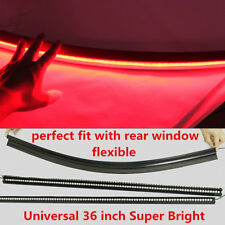 Universal 36'' Red LED Car DC12V Rear Windhield Third High Break Tail Light Lamp