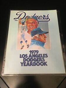1979 Los Angeles Dodgers Yearbook in near mint