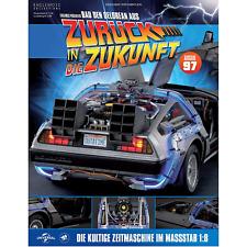 DeLorean aus Zurück in die Zukunft | Eaglemoss Ausgabe 97 in OVP siehe Bild !