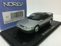 1/43 NOREV LUMYNO SUBARU ALCYONE SVX SILVER diecast scale model car JAPAN ONLY