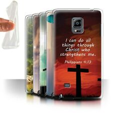Gel/TPU Case/Cover for Samsung Galaxy Note Edge/N915/Christian Bible Verse