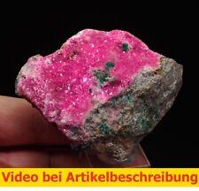 7339 Cobalto Calcite Cobaltoan calcite 6*8*4cm  Kanfunda Katanga Zaire DRC MOVIE