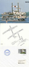 GERMAN RIVER CRUISE SHIP MS HAVEL QUEEN A SHIPS CACHED COVER & POSTCARD