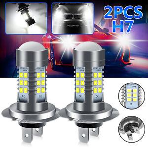 2x H7 LED Headlight Bulb Kit High/Low Beam 110W 30000LM Super Bright 6000K White