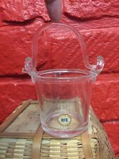VINTAGE Bucket Pail Handle RFB SWEDEN CRYSTAL SCANDINAVIAN ART Glass C3
