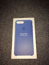 Apple Leather Case for iPhone 7 Plus - Blue