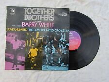 TOGETHER BROTHERS lp barry white love unlimited pye 28203.....33rpm / soul