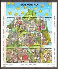 San Marino - 1993 - Mi. Blok 17 - Postfris - MM119