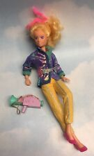"""Jem & the Holograms VIDEO doll, Camera, clothes & shoes vintage Hasbro 1980s 12"""""""