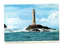 Cornwall - Land's End, Longships Lighthouse - Postcard Franked 1964