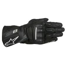 ALPINESTARS SP-8 SPORT LEATHER GLOVESBLACK/DARK GREY XXX-LARGE