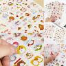 6Pc Kawaii Rabbit Girl Color Deco Stickers DIY Diary Decal Craft Scrapbook B6W8