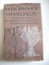 Robert Scholes Richard Kain--WORKSHOP OF DAEDALUS 1st ed 1st ptg HCDJ Signed