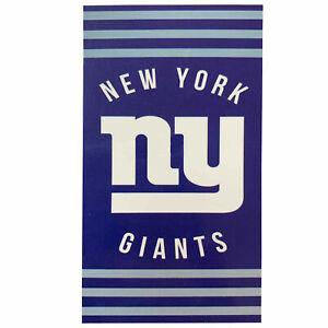 "New Football Team New York Giants Beach Towel Bath 30'' x 60"" Licensed"