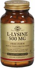 L-Lysine, Solgar, 100 capsule 500 mg