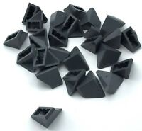 Lego 25 New Dark Bluish Gray Slope 45 2 x 1 Double / Inverted  Sloped Parts