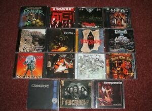 15 CD Paket (Heavy Metal)