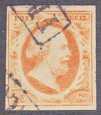 NVPH 3 Koning Willem 3 LuXe gerand Gebruikt Cataloguswaarde 170,00 E-2344