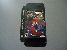 Disgaea 2 Cursed Memories Empty Display Box  NEW  PS2     No Game