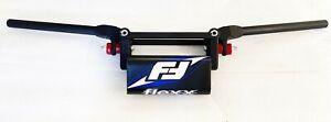 Fasst Flexx 12 Degree Bend Enduro Handlebars Dirtbike Blue Pad Bars Fast Flex