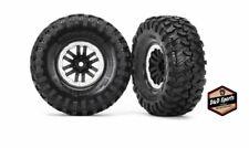 Traxxas 8272X TRX-4 1.9 Inch Tires and Satin Beadlock Wheels, Assembled & Glued