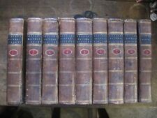 Antiquarian NATURAL HISTORY by Count De Buffon,9 Vols,London 1785,Hobart Town.