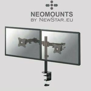 NewStar Flat Screen Desk Mount (Black) for computer monitors.