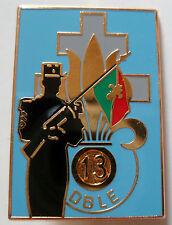 INSIGNE LEGION ETRANGERE ORIGINAL 13° DBLE CAMERONE 1995 numéroté (french ffl)