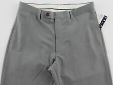 Men's RALPH LAUREN Gray Grey Dress Pants 36x32 36 32 NWT NEW Washable Modern Fit