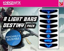 KNR6901 DESTINY 2 PACK OF 8 LIGHT BARS - PS4 DUALSHOCK 4 PLAYSTATION BAR