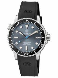 Deep Blue Master 1000 44MM Diver Automatic Diver Gen 2 BLACK CERAMIC BEZEL GREY