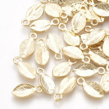 24K Gold Plated brass pendant charm Necklace Jewelry Components 10pcs 10200