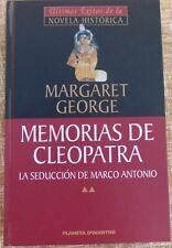MEMORIAS DE CLEOPATRA/MARGARET GEORGE/2002/NOVELA HISTORICA