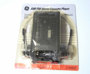 NEW SEALED Vintage GE 3-5493S Portable AM/FM Radio Stereo Cassette Player