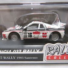 Mini car 1/64 Scale Rally car collection LANCIA 037 WRC 1983 Sanremo Diecast