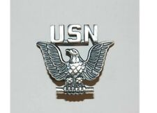 USN - US Army Navy Seals Badge Pin Insignia Visor Hat Marines USMC WK2 WKII WW2