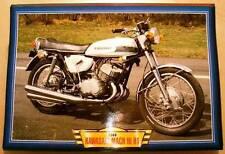 KAWASAKI MACH III H1 500 TRIPLE VINTAGE CLASSIC MOTORCYCLE BIKE 1960'S PICTURE