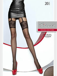 Muriel 20 Den Fiore Top quality, highly fashionable patterned tights