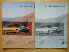 CITROEN Xsara Coupe range 1998 UK Market sales brochure + specs folder