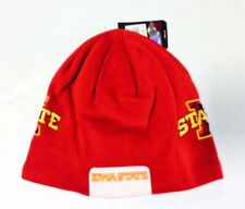 Iowa State Cyclones Knit Beanie Toque Skull Winter Hat Cap NEW NCAA - A1