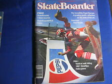 SKATEBOARDER MAGAZINE--DEC 1977-BOB BINIAK-PEPSI RAMPS-JIM CASSIMUS PORT-VINTAGE