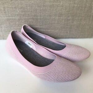 New Allbirds Women's Tree Breezers Slip On Anemone Pink Flat Shoes Sz 10.5