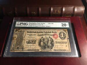 1865 $1 Fr#380 Ch# 892 PMG 20